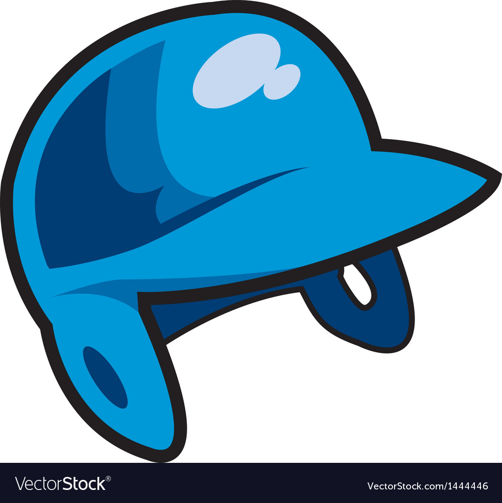 Batters helmet vector | Price: 1 Credit (USD $1)