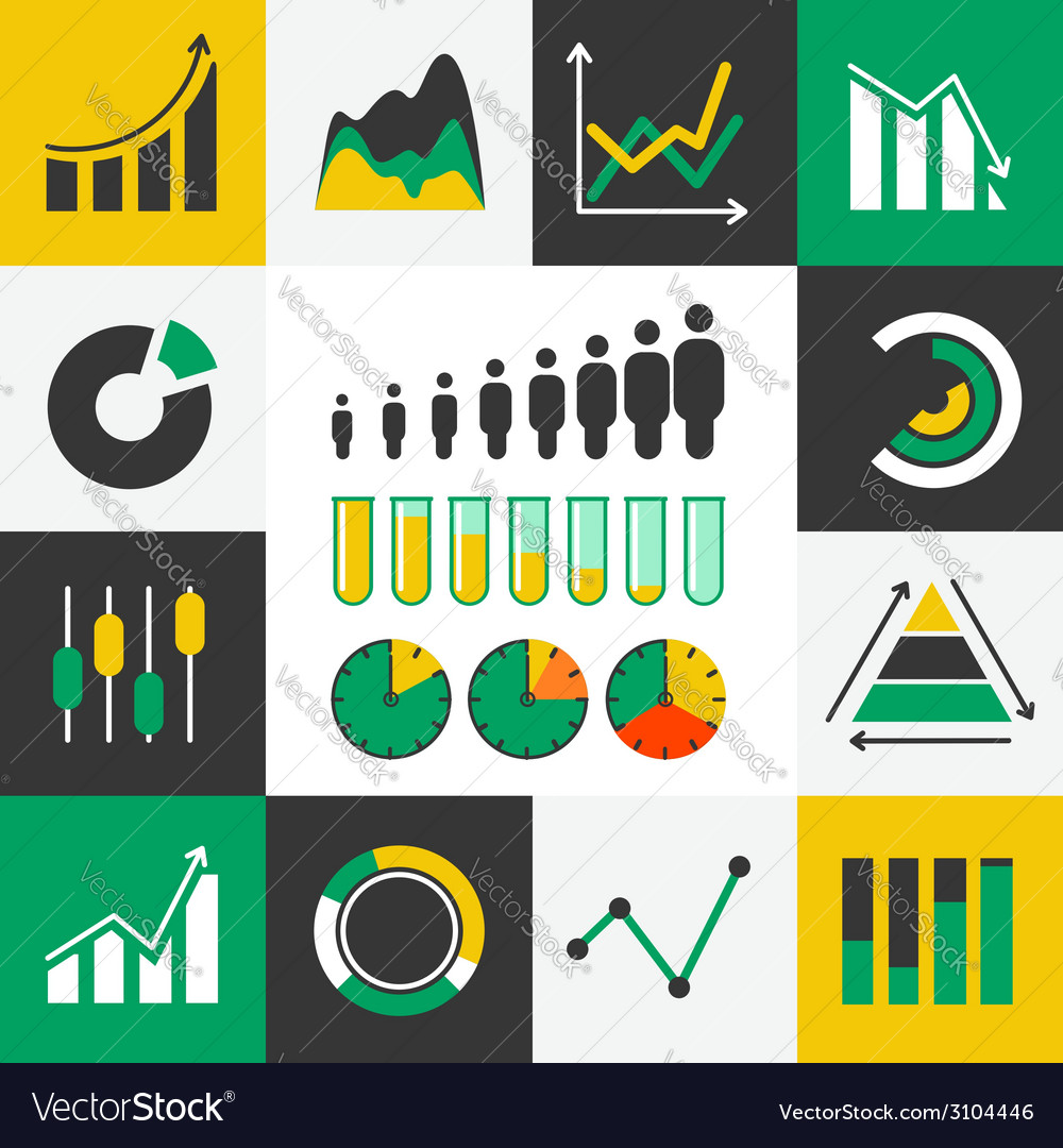 Business-infographic-icons vector | Price: 1 Credit (USD $1)