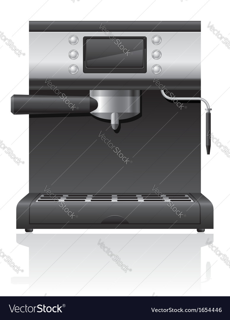 Coffee maker 03 vector | Price: 1 Credit (USD $1)