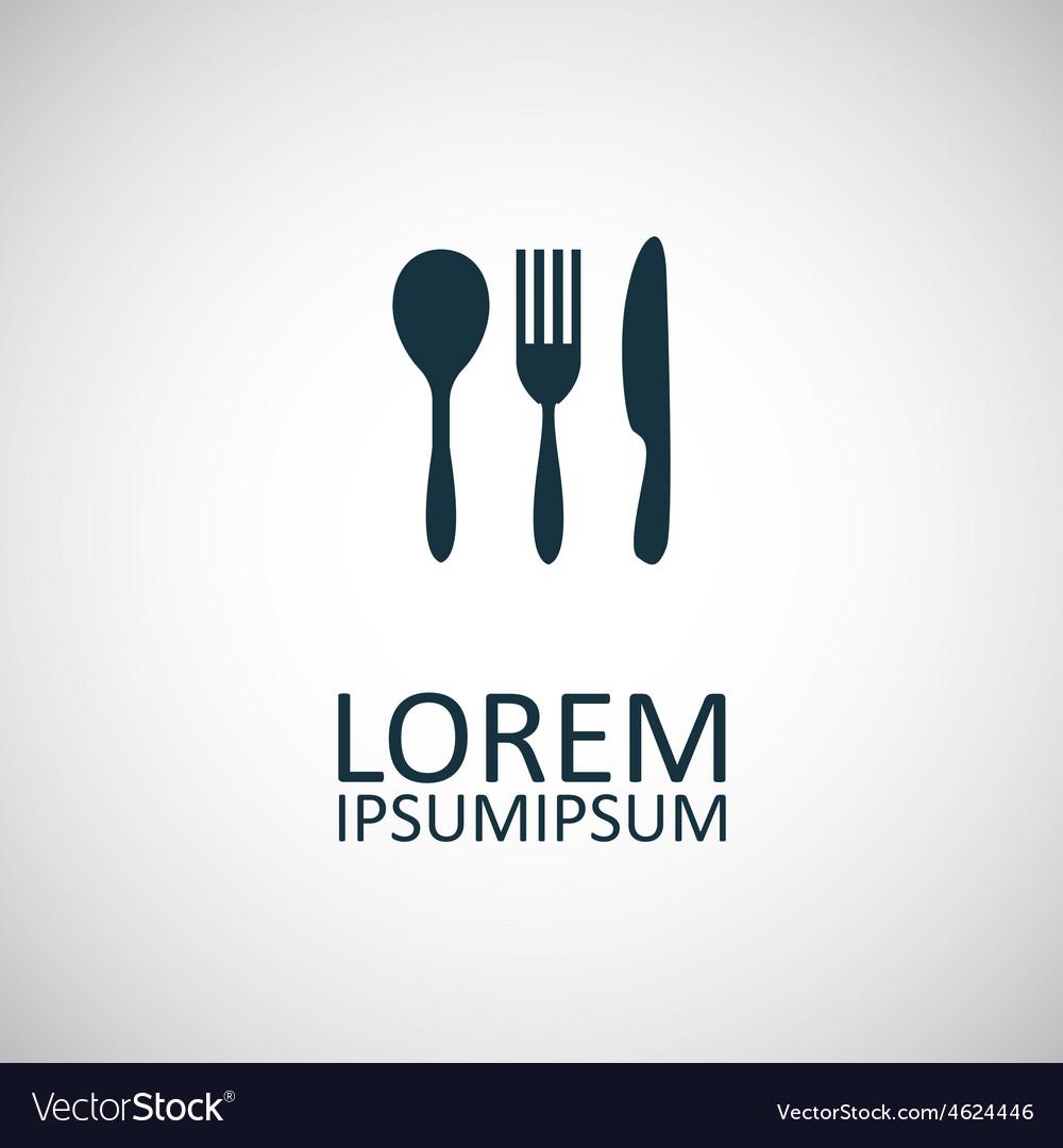 Cutlery icon vector | Price: 1 Credit (USD $1)