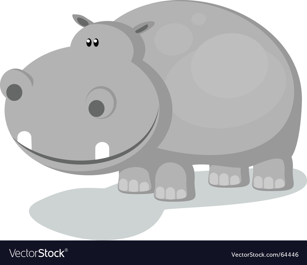Hippo vector | Price: 1 Credit (USD $1)