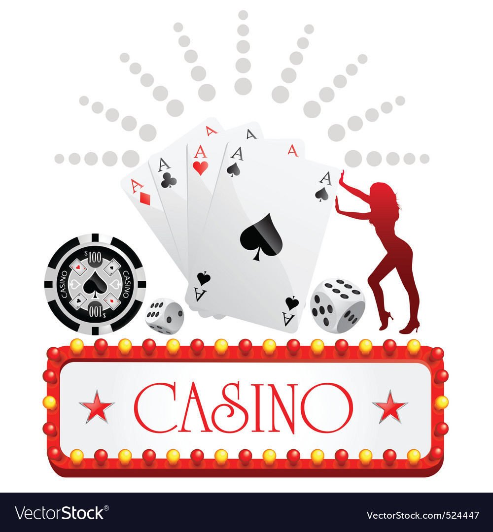 Casino design vector | Price: 1 Credit (USD $1)
