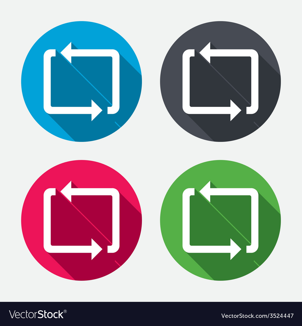 Repeat icon loop symbol refresh sign vector   Price: 1 Credit (USD $1)