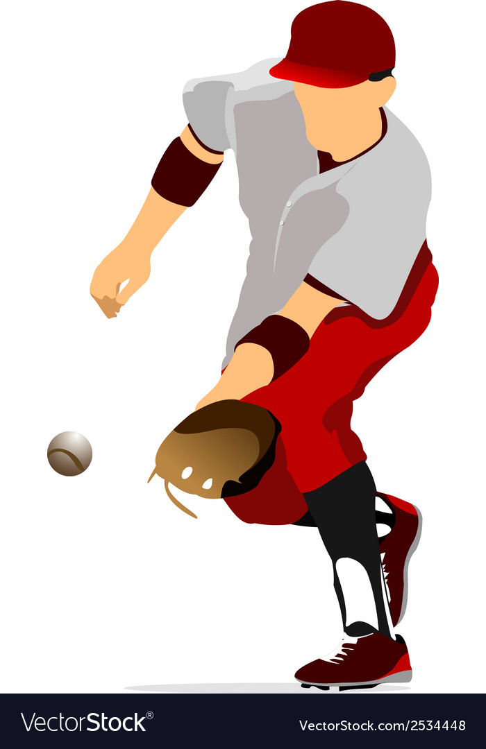 Al 0947 baseball 02 vector | Price: 1 Credit (USD $1)