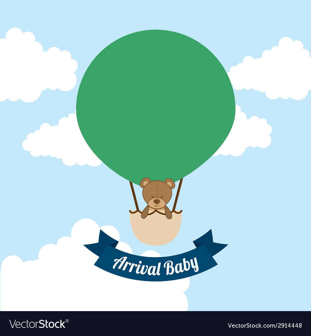 Arrival baby vector | Price: 1 Credit (USD $1)