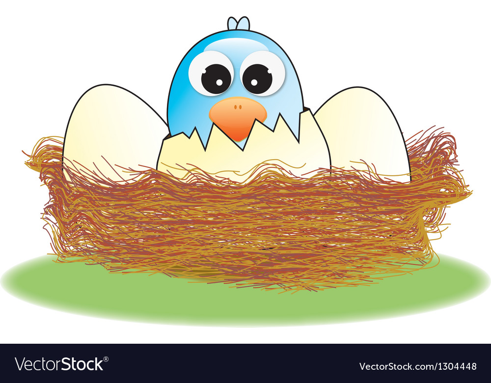Hatched egg vector | Price: 1 Credit (USD $1)
