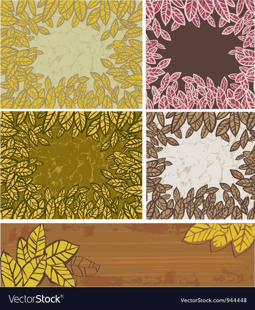 Leaves background vector   Price: 1 Credit (USD $1)