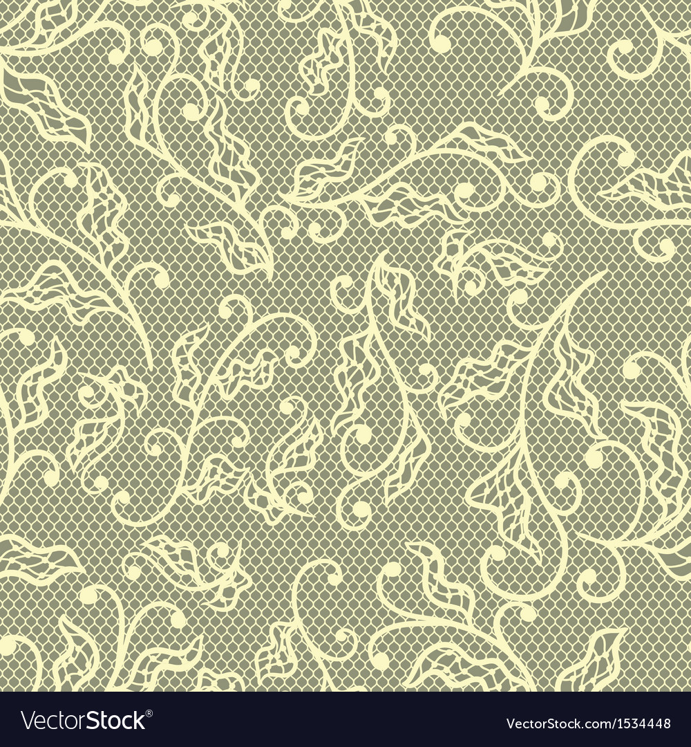 Old lace background floral ornament texture vector | Price: 1 Credit (USD $1)