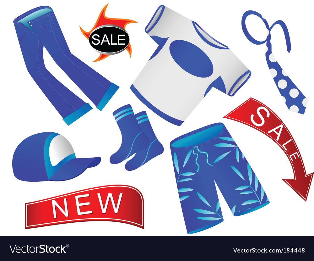 Shop of clothes vector | Price: 1 Credit (USD $1)