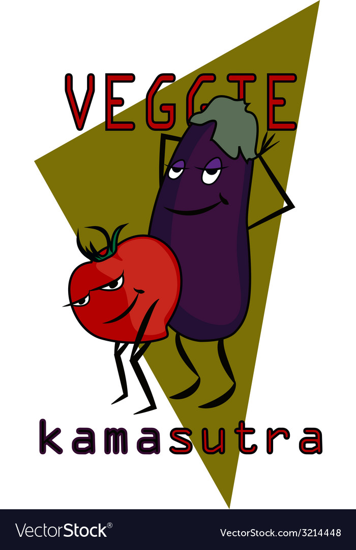 Veggie kama sutra vector | Price: 1 Credit (USD $1)