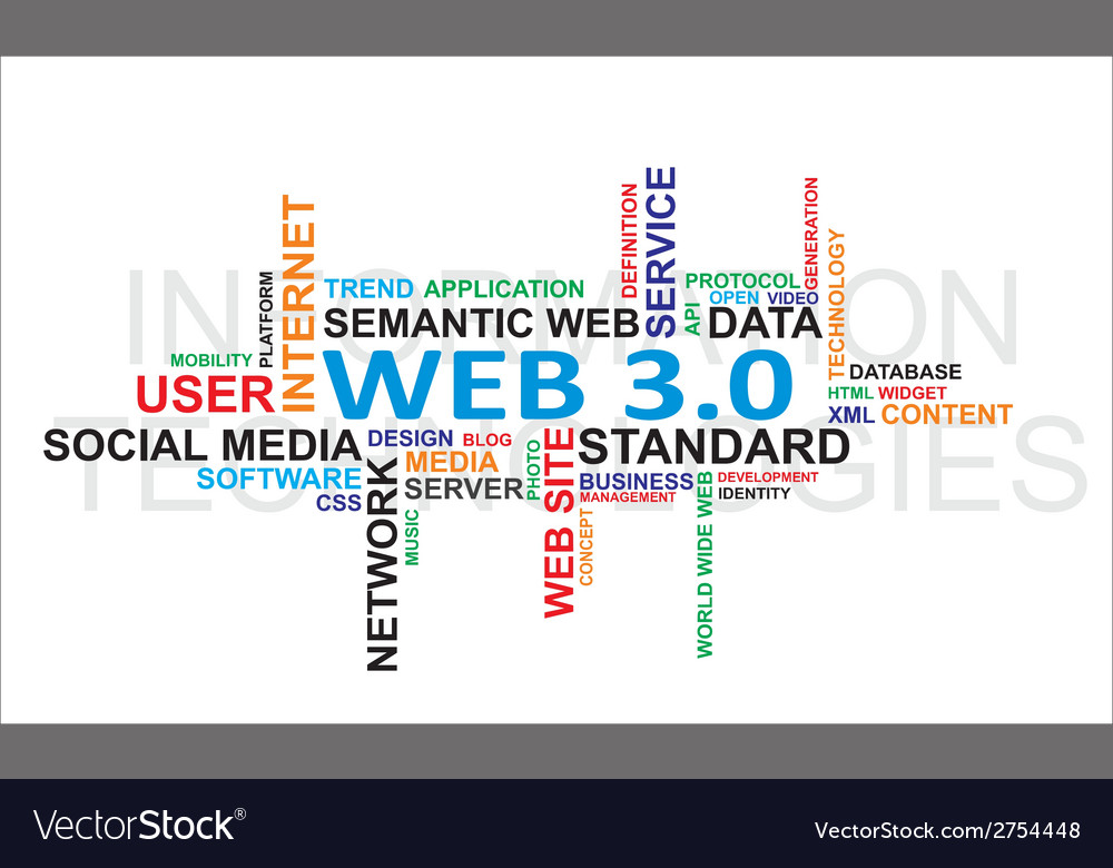 Word cloud web vector | Price: 1 Credit (USD $1)