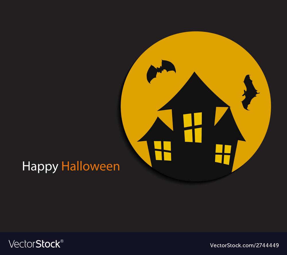 Halloween background with pumpkin vector | Price: 1 Credit (USD $1)