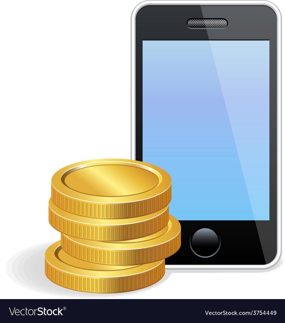 Mobilepayment vector | Price: 1 Credit (USD $1)