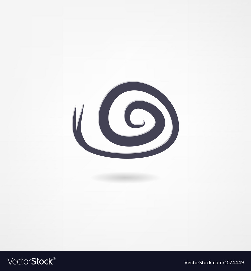 Snail icon vector | Price: 1 Credit (USD $1)