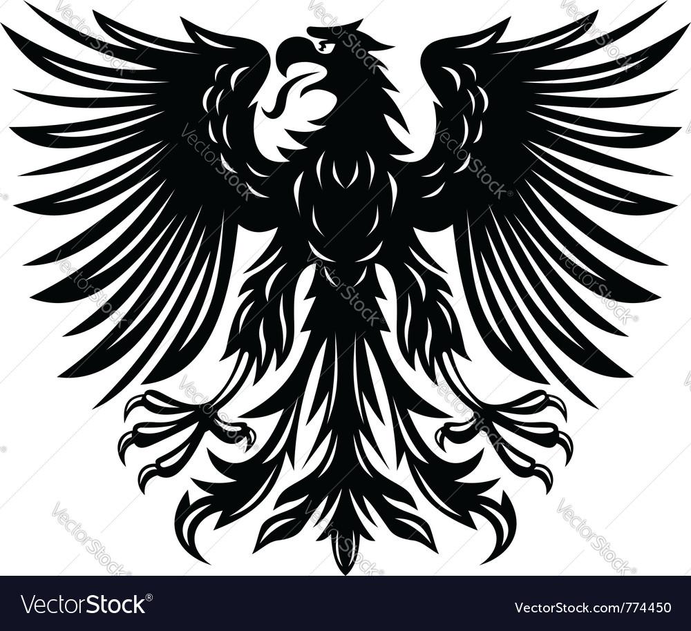 Black eagle vector | Price: 1 Credit (USD $1)