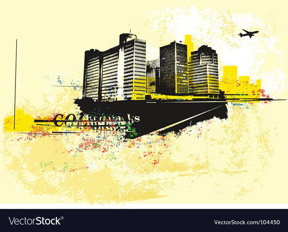 Urban background vector | Price: 1 Credit (USD $1)