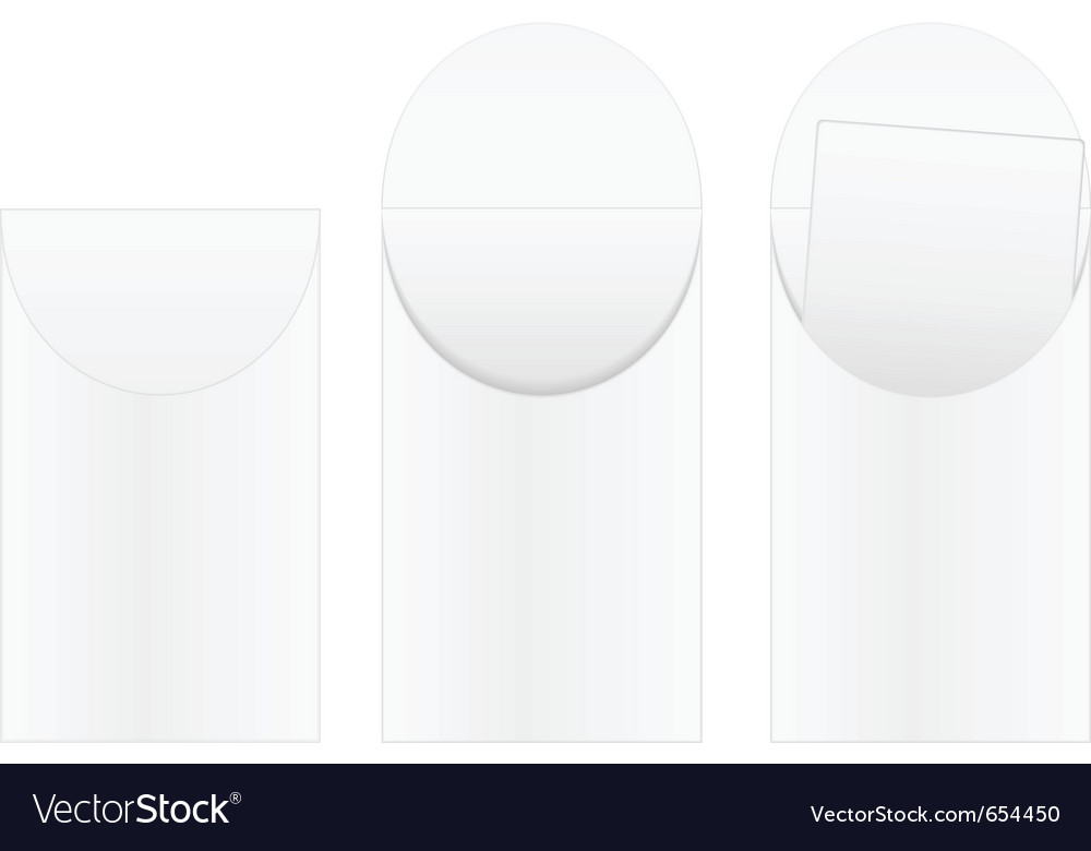 White envelopes vector | Price: 1 Credit (USD $1)