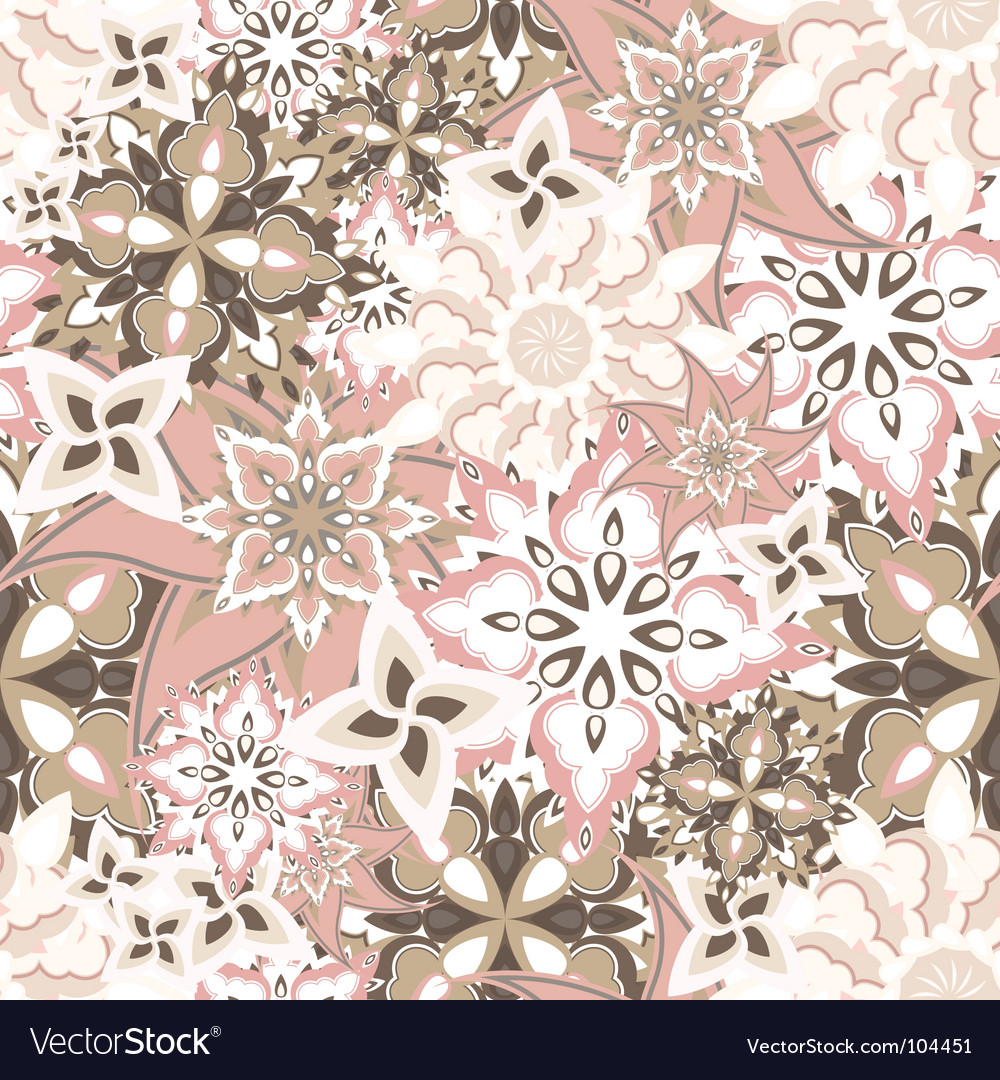 Floral texture vector | Price: 1 Credit (USD $1)