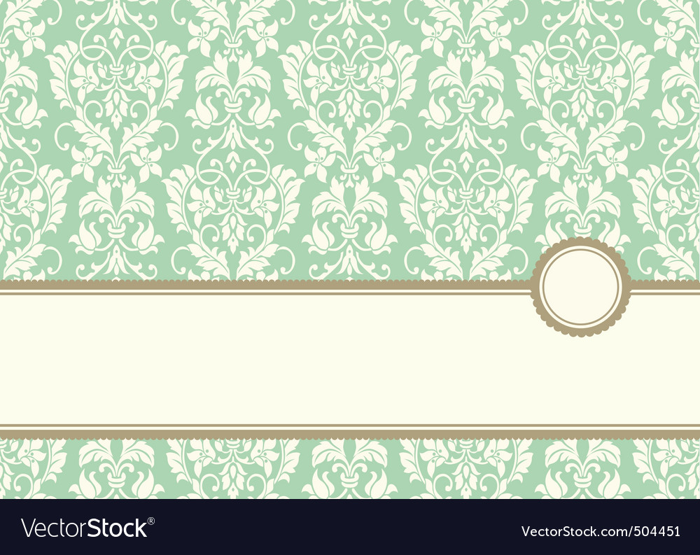 pastel banner frame and background vector | Price: 1 Credit (USD $1)