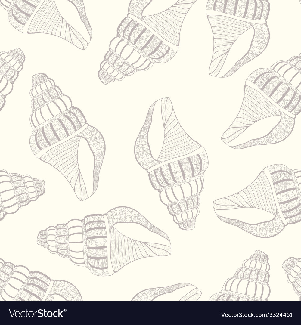 Seashell12 vector | Price: 1 Credit (USD $1)