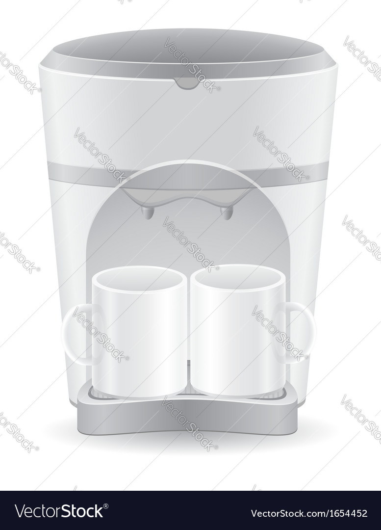 Coffee maker 06 vector | Price: 1 Credit (USD $1)