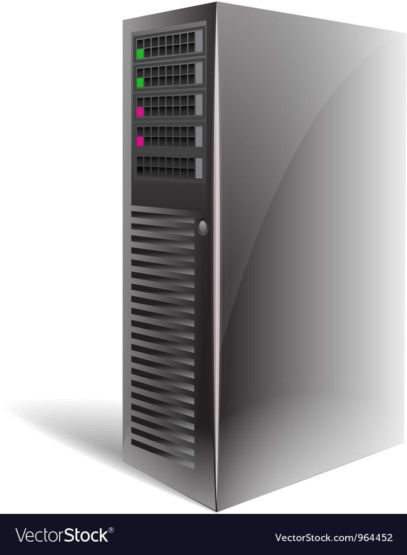 Server case vector | Price: 1 Credit (USD $1)