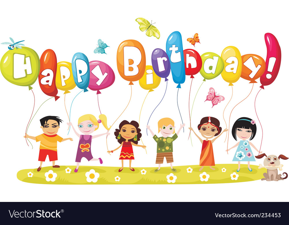Birthday vector | Price: 3 Credit (USD $3)