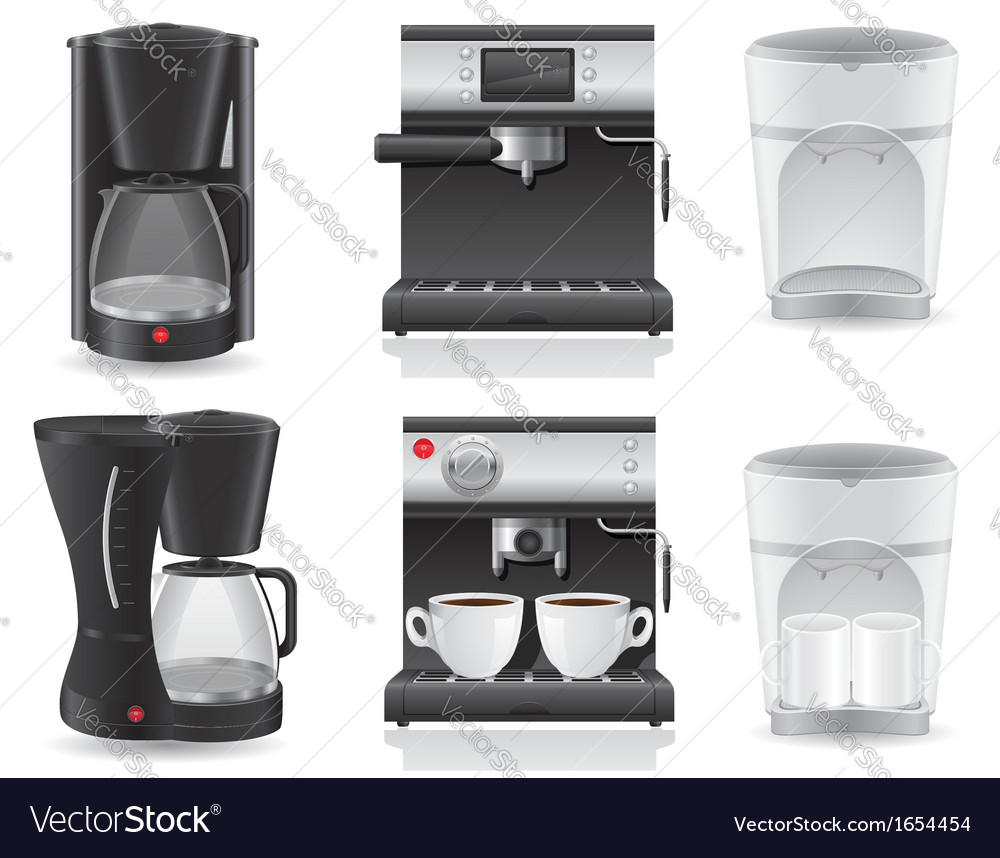 Coffee maker 07 vector | Price: 3 Credit (USD $3)