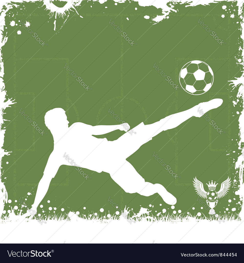 Soccer frame vector | Price: 1 Credit (USD $1)