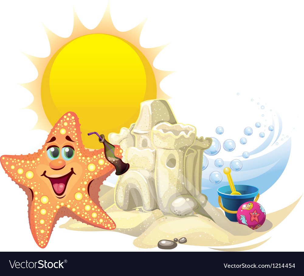 Starfish vector | Price: 3 Credit (USD $3)