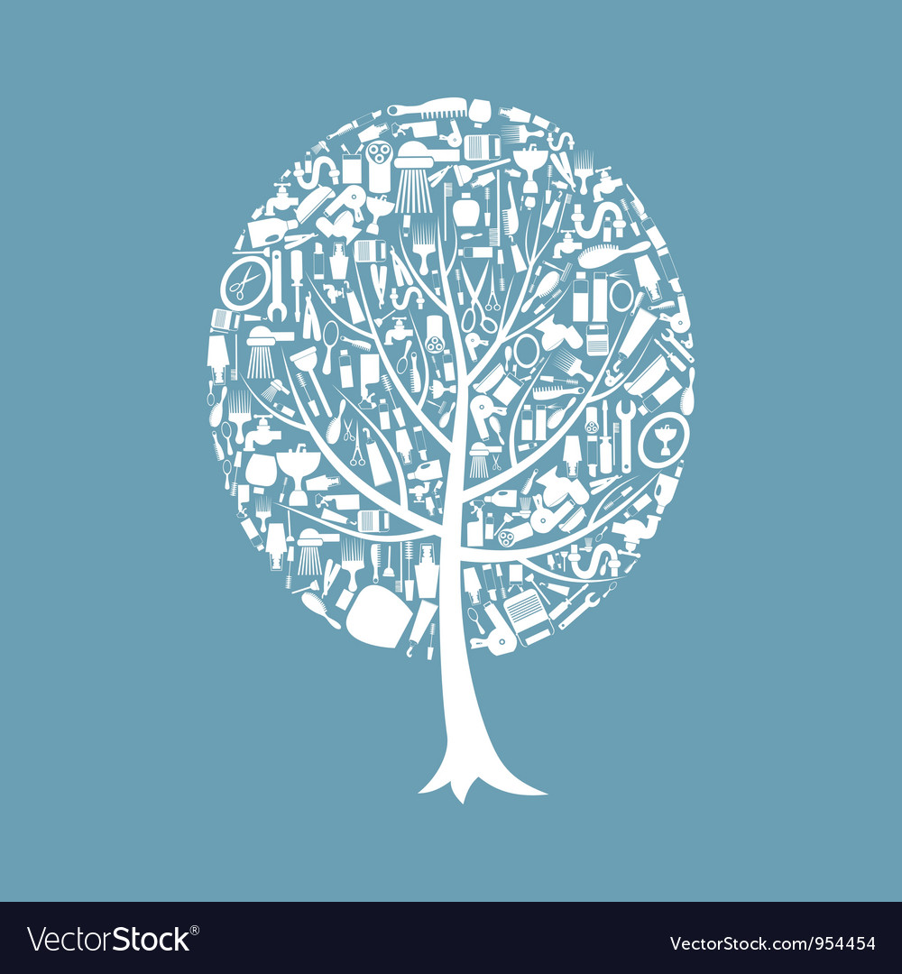 Tree a bath vector | Price: 1 Credit (USD $1)