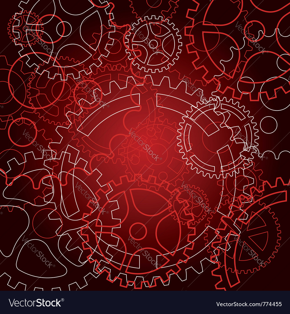 Gears for technology vector | Price: 1 Credit (USD $1)