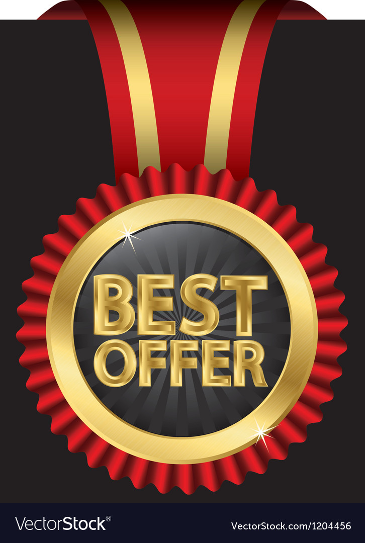 Best offer vector | Price: 3 Credit (USD $3)