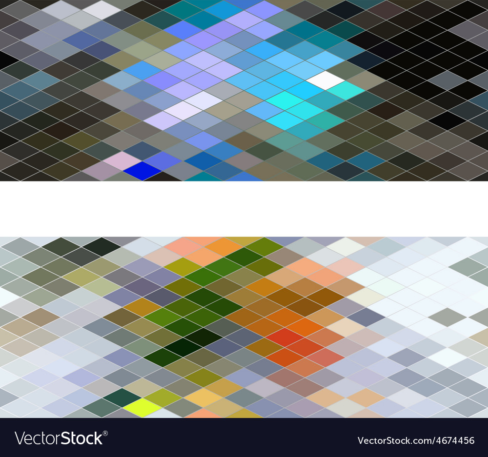 Diamond seamless pattern abstract background vector