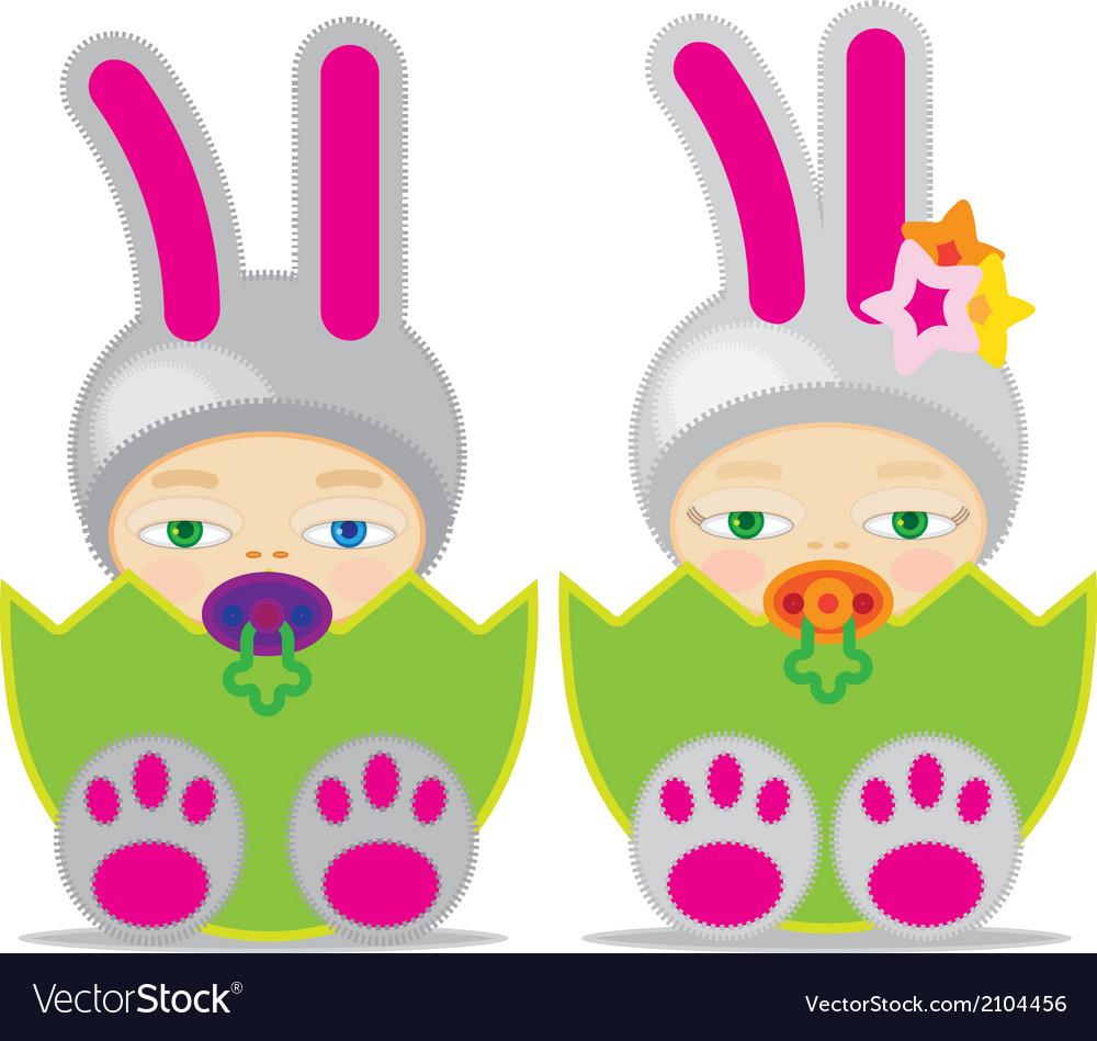 Easter baby gbbunn2 vector | Price: 1 Credit (USD $1)