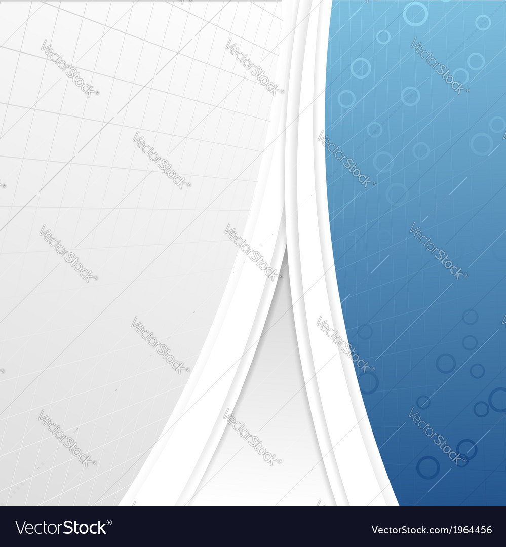 Modern business folder template - geometrical vector | Price: 1 Credit (USD $1)