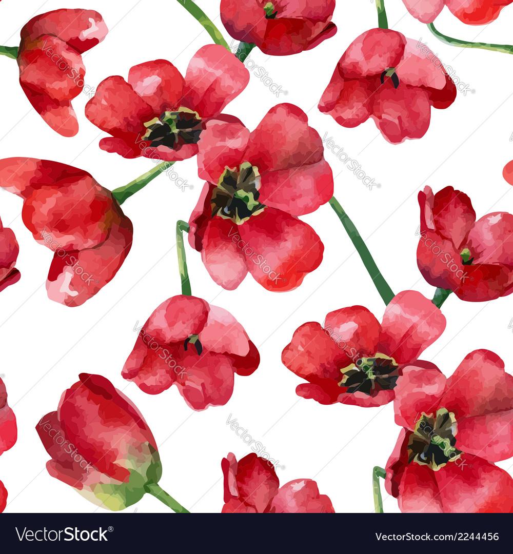 Tulips vector | Price: 1 Credit (USD $1)