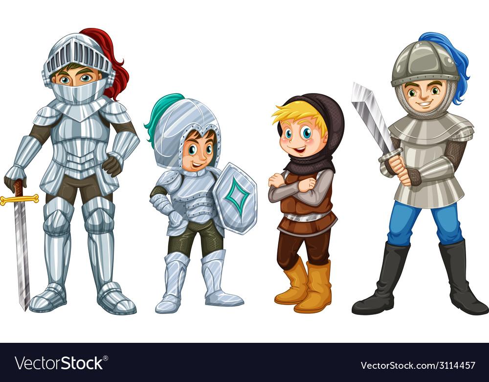 Knights vector | Price: 1 Credit (USD $1)