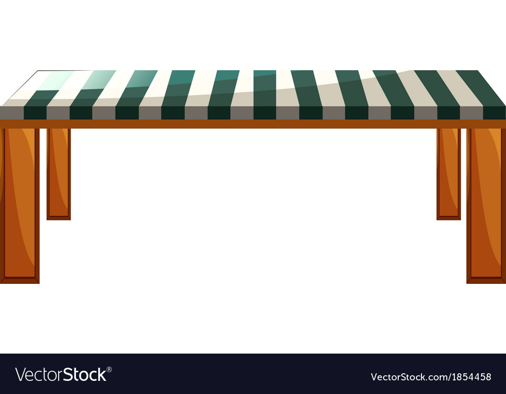 A table furniture vector | Price: 1 Credit (USD $1)