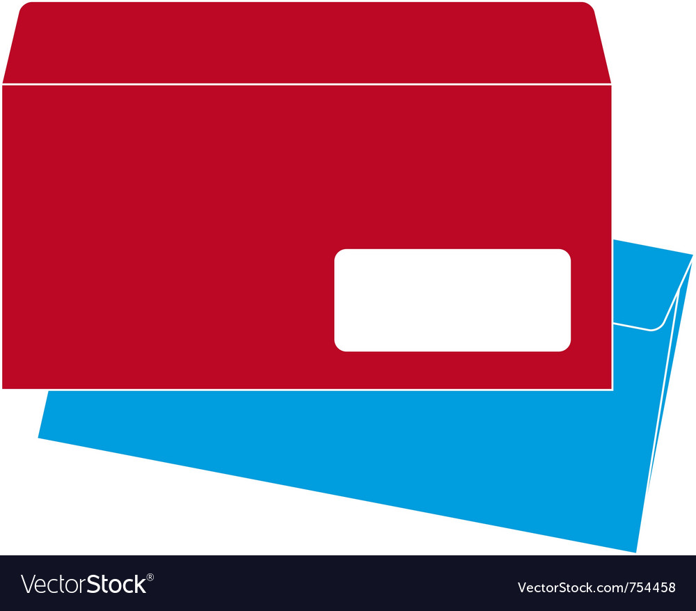 Euro-size envelope vector | Price: 1 Credit (USD $1)