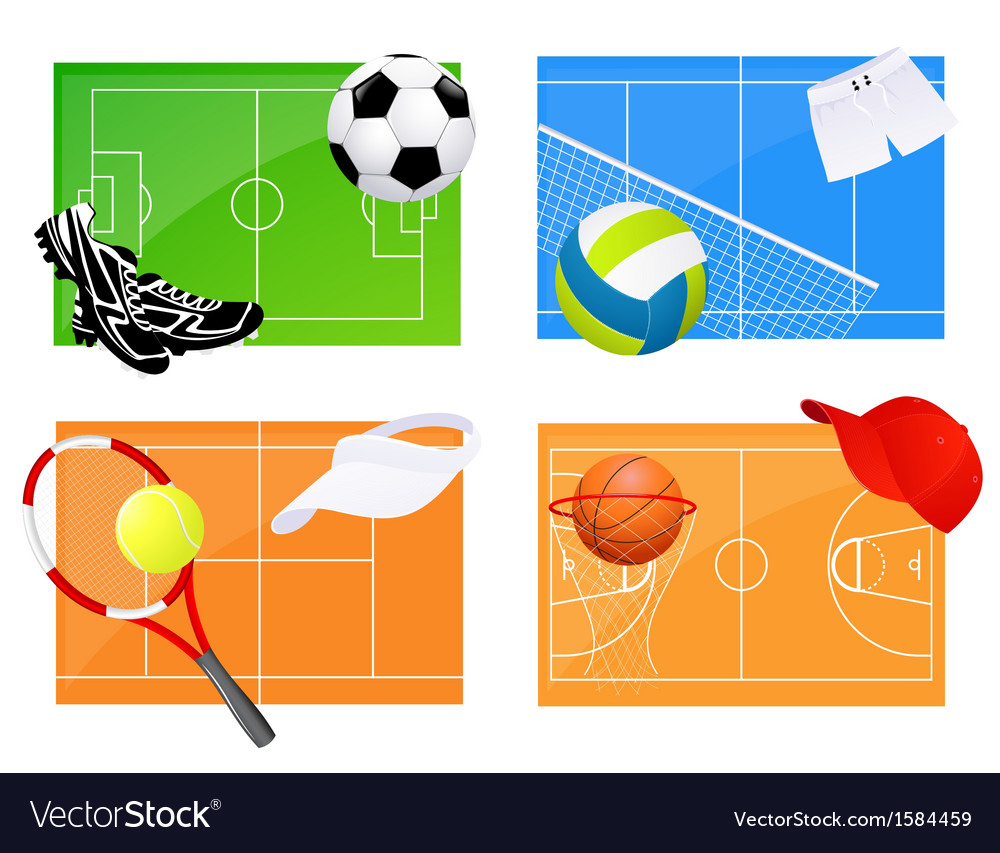 Sport backgrounds vector | Price: 1 Credit (USD $1)
