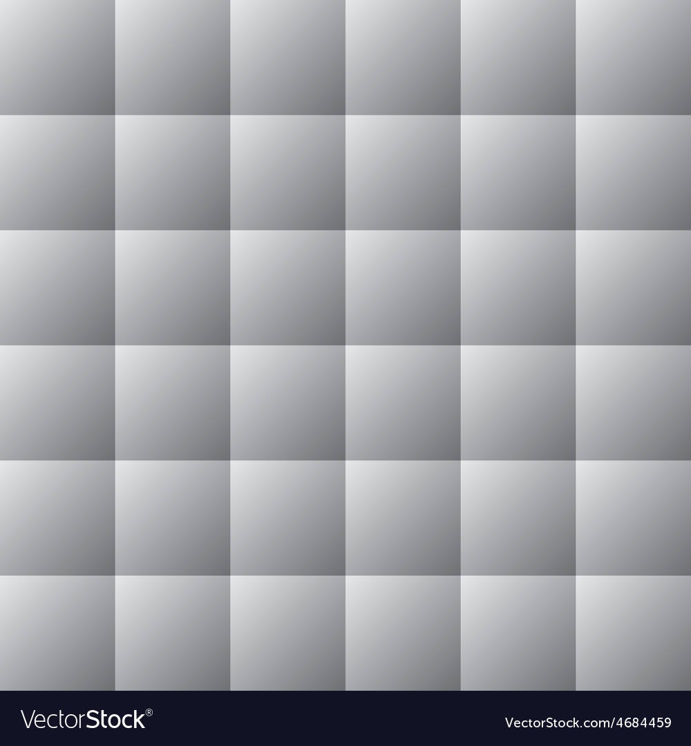 Square white gray texture seamless background vector | Price: 1 Credit (USD $1)