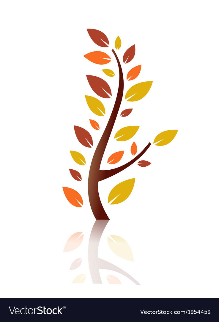Stylised plant vector | Price: 1 Credit (USD $1)