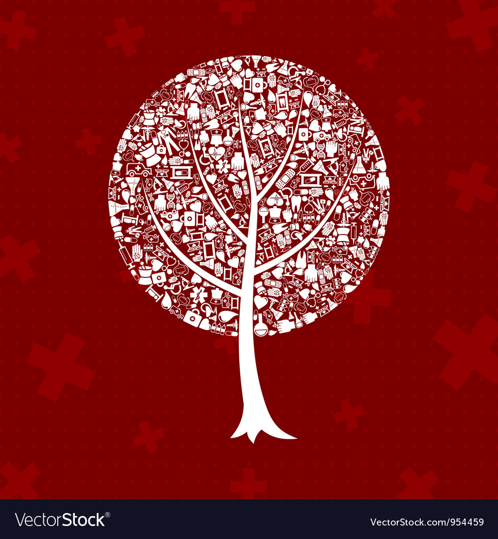 Tree medicine vector | Price: 1 Credit (USD $1)