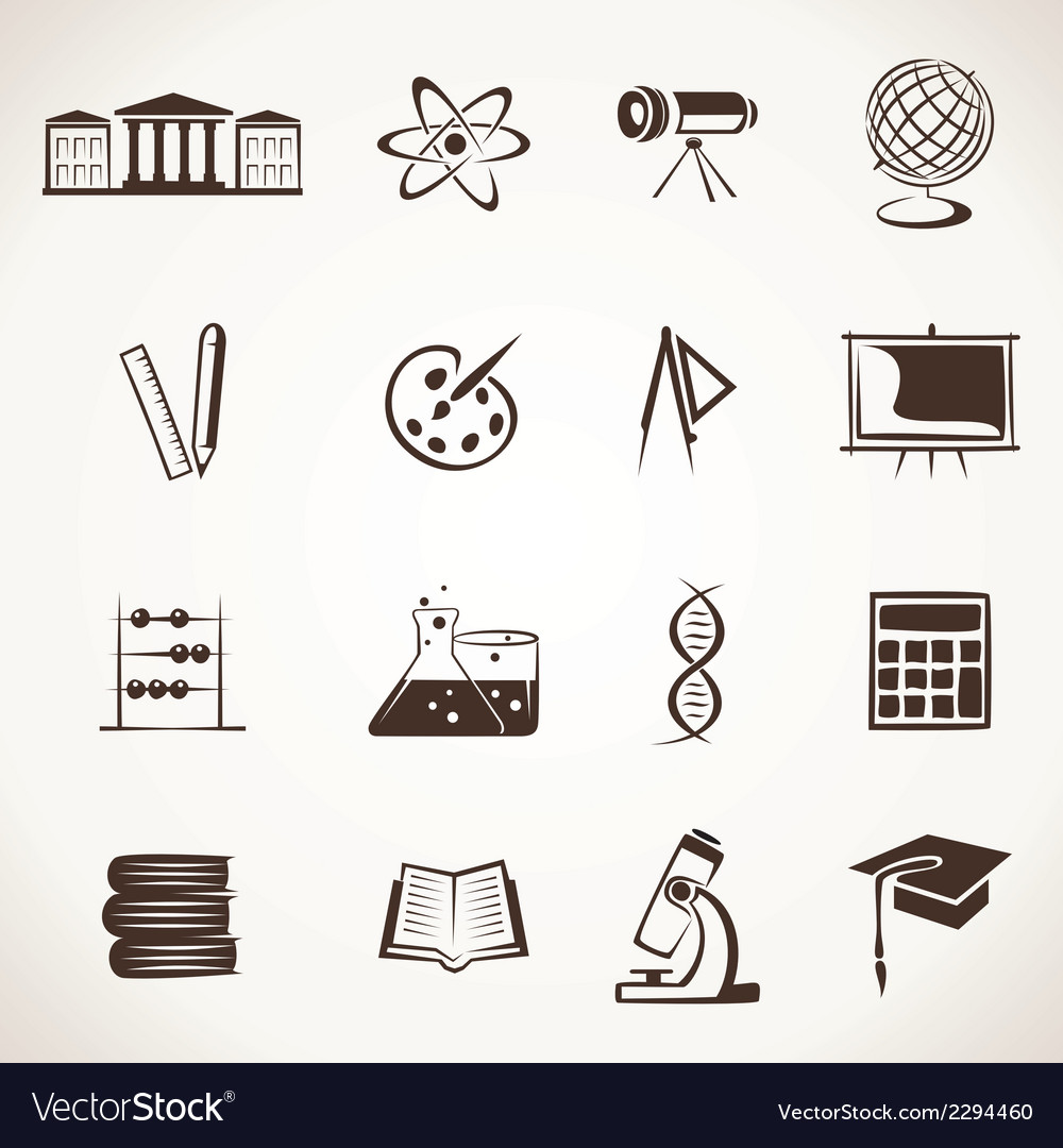 Educational icon stock vector | Price: 1 Credit (USD $1)