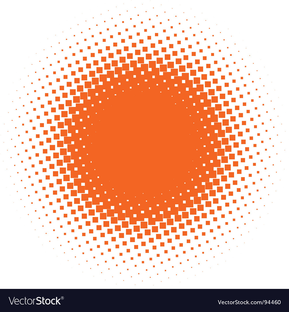 Halftone design element vector | Price: 1 Credit (USD $1)