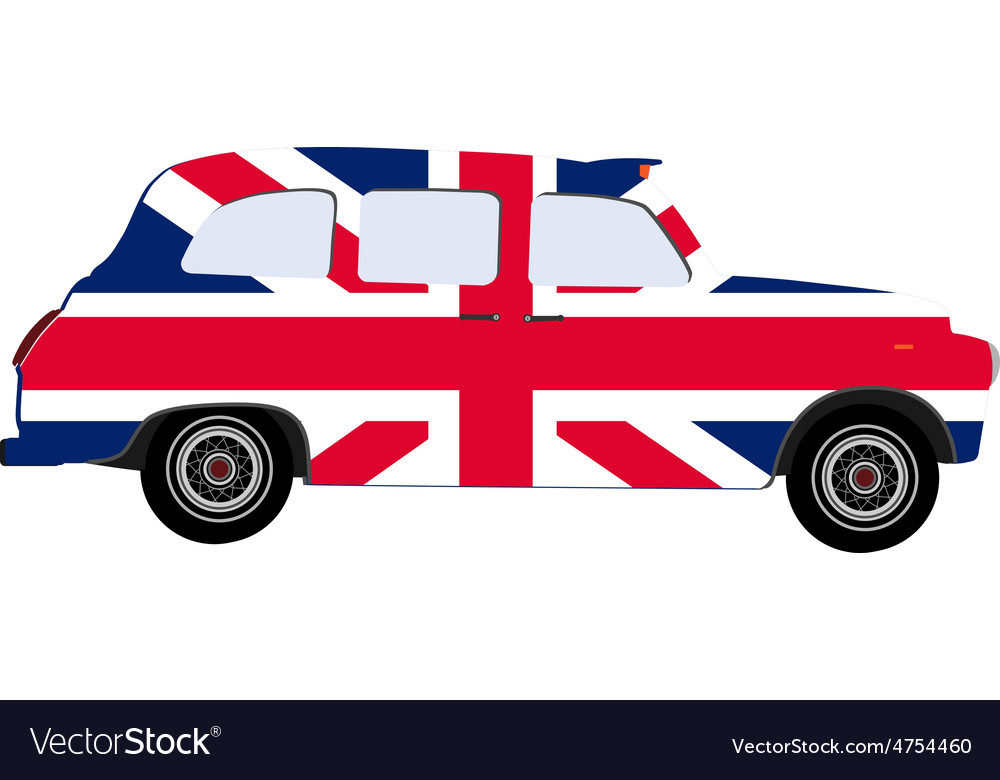 London cab vector | Price: 1 Credit (USD $1)