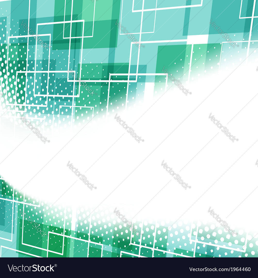 Modern white swoosh over geometrical background vector | Price: 1 Credit (USD $1)