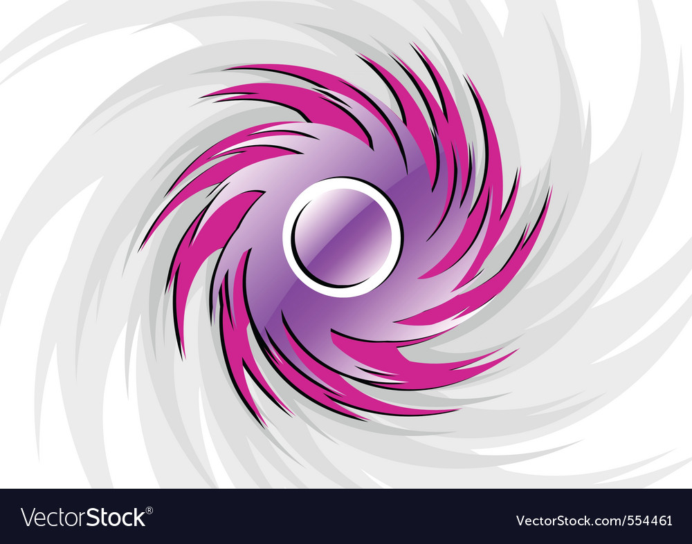 Rounded vortex vector | Price: 1 Credit (USD $1)