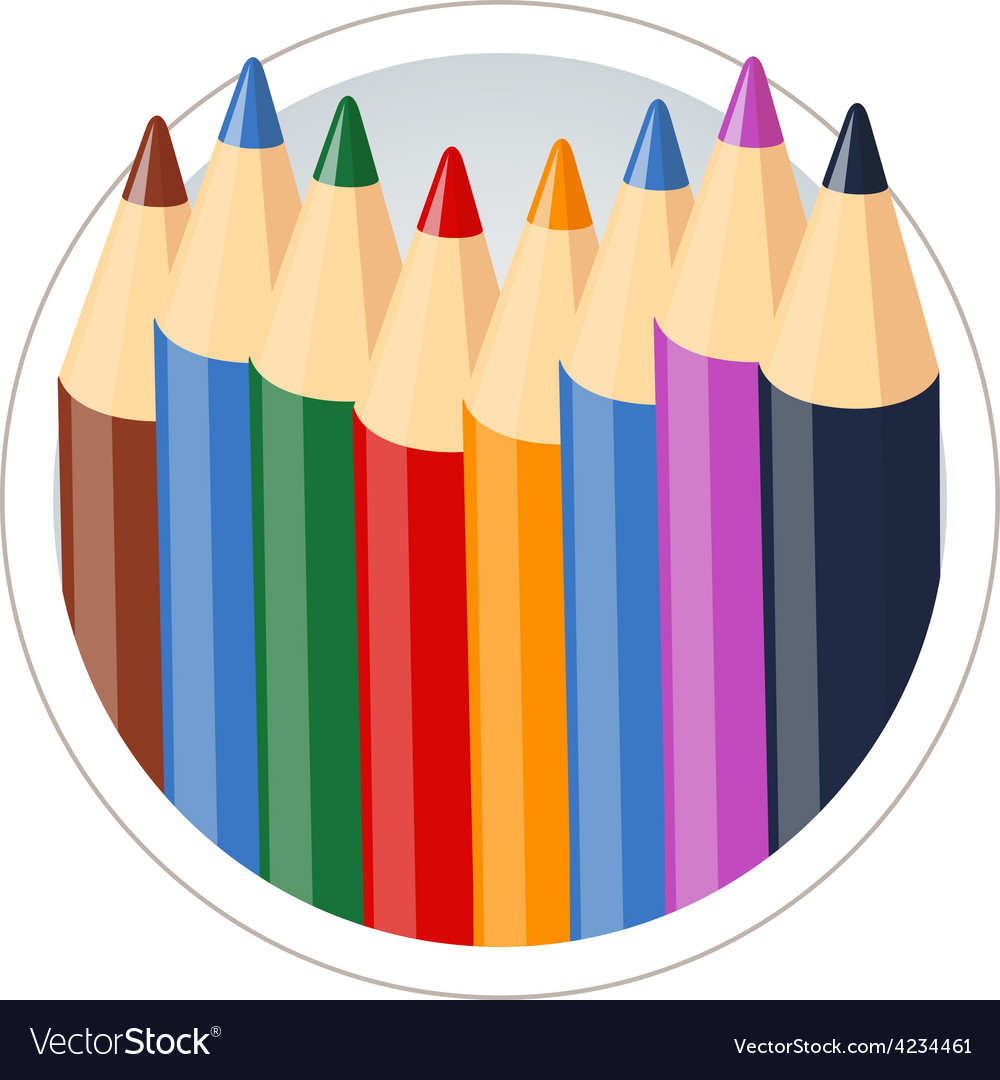 Set of colour pencils for vector   Price: 3 Credit (USD $3)
